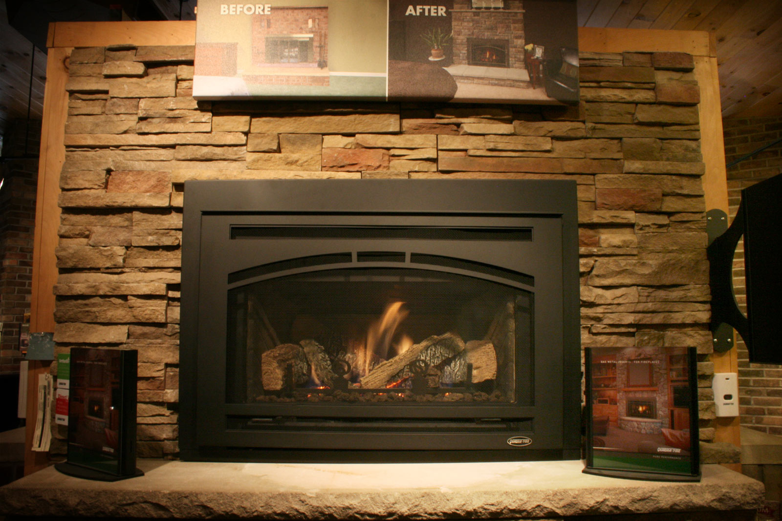 A full-service home heating retail store with in-house experts, technicians, construction and masonary specialists.